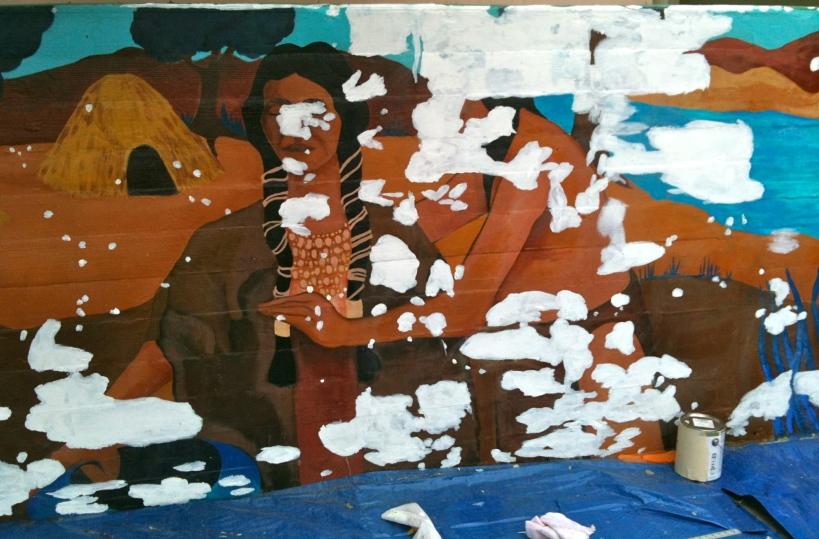 Primed Tongva panel